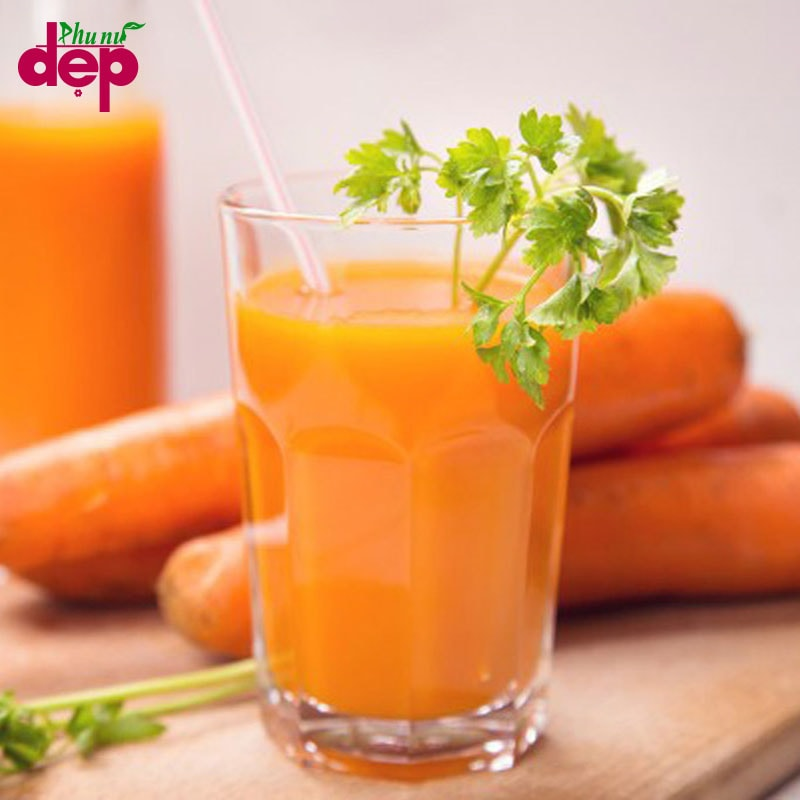 Cà rốt thích hợp cho việc giảm béo mỡ mặt
