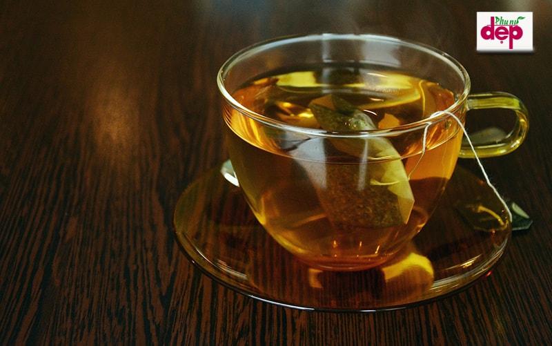 Cách pha trà túi lọc đông trùng hạ thảo. (Ảnh: Internet).