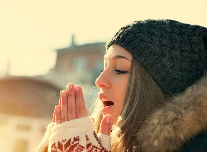 Bí kíp giữ ấm cơ thể vượt qua mùa đông. (Ảnh: Internet).