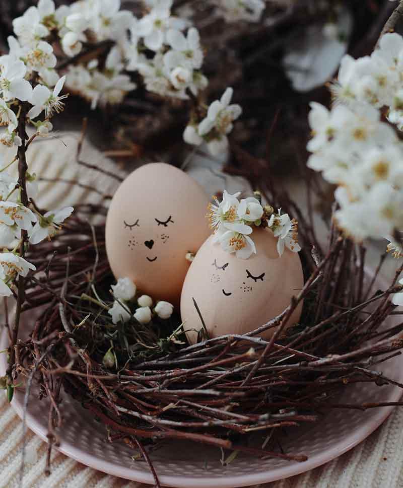 Trứng tốt cho mắt. (Ảnh: Pexels)